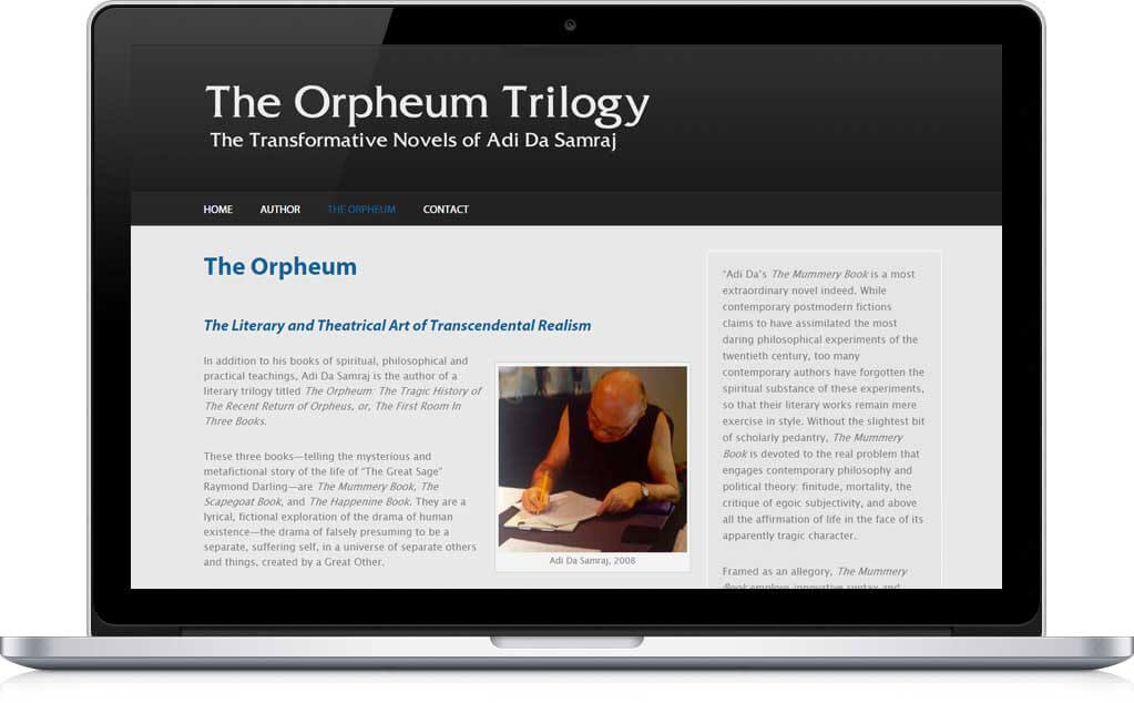 Orpheum Trilogy Website from Da Orpheum